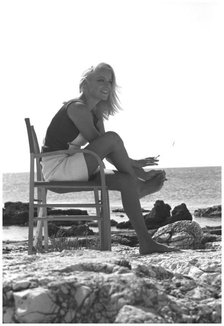 Virna Lisi sul set di %22Meglio vedova%22 (Duccio Tessari, 1968) a14