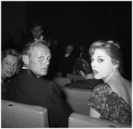 Virna Lisi With Richard Widmark,1968