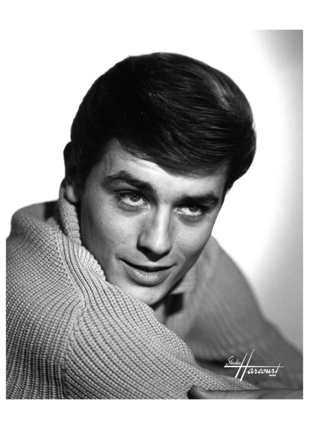 1960 Alain Delon Studio Harcourt  Paris