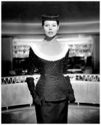 """after eleven at nigh Chez Maurice """", Grit Hübscher in beaded cocktail dress, photo by F.C. Gundlach, 1955 c"""