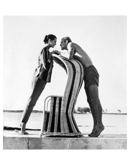 Carmen Dell´Orefice Photo Norman Parkinson Bahamas, 1959 b