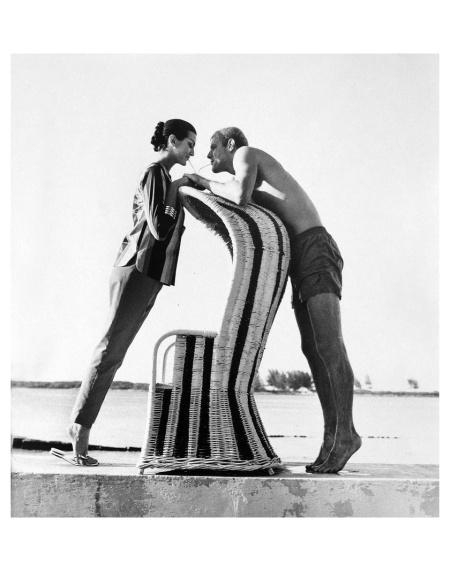 Carmen Dell´Orefice Photo Norman Parkinson Bahamas, 1959 b