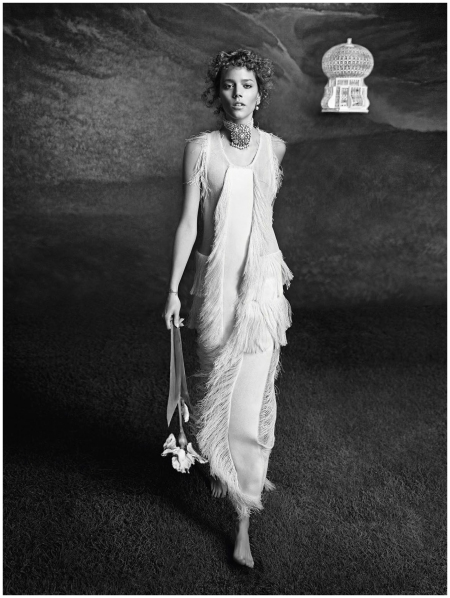Freja Beha Erichsen Vogue Paris 2014 Photo Inez & Vinoodh c