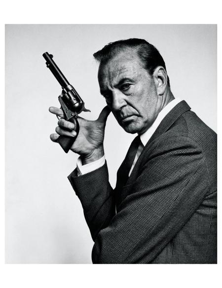 Gary Cooper, 1960 Photo Bert Stern