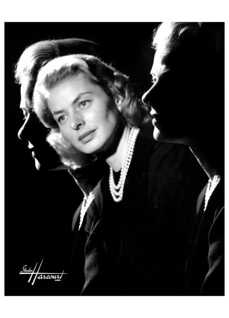 Ingrid Bergman 1957 - studio-harcourt-paris
