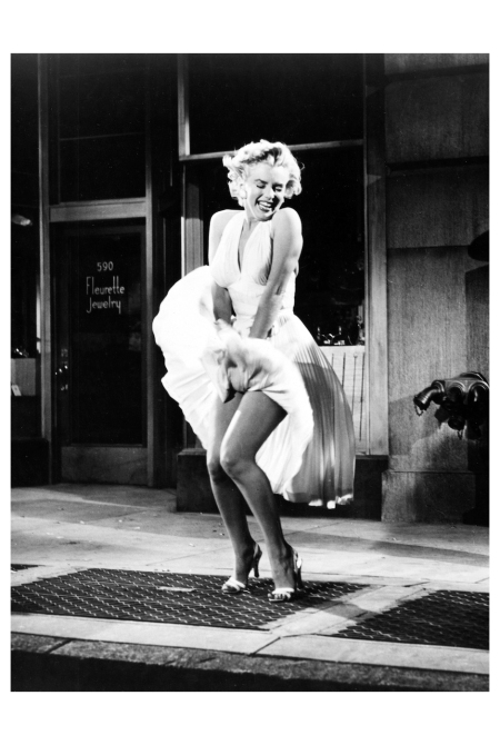 THE SEVEN YEAR ITCH, Marilyn Monroe, 1955. TM and Copyright ©20th Century Fox Film Corp. All rights