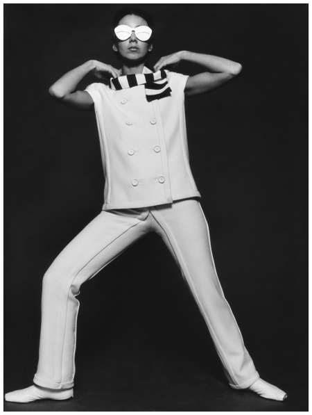 Pantsuit by André Courrèges 1965 Photo FC Gundlach