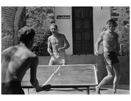 Paul Newman & Robert Redford, Mexico, 1968 Photo Lawrence Schillerr