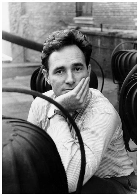 Portrait of Werner Bischof, New York, USA 1954