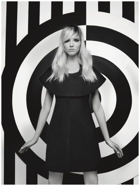 Sasha Luss Numero sept 2014 Photo Karl Lagerfeld