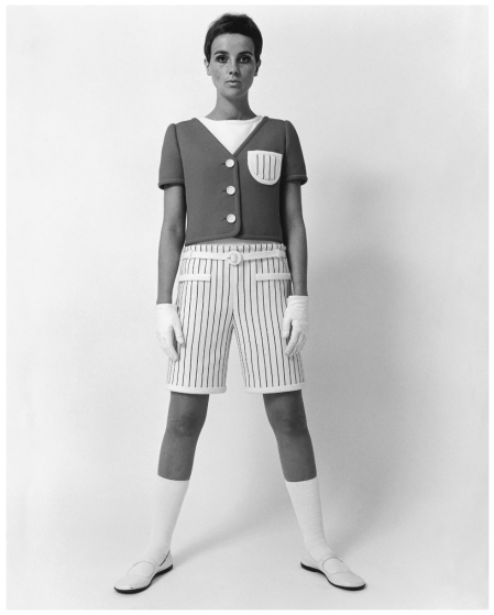 Shorts by André Courrèges 1965 Photo FC Gundlach