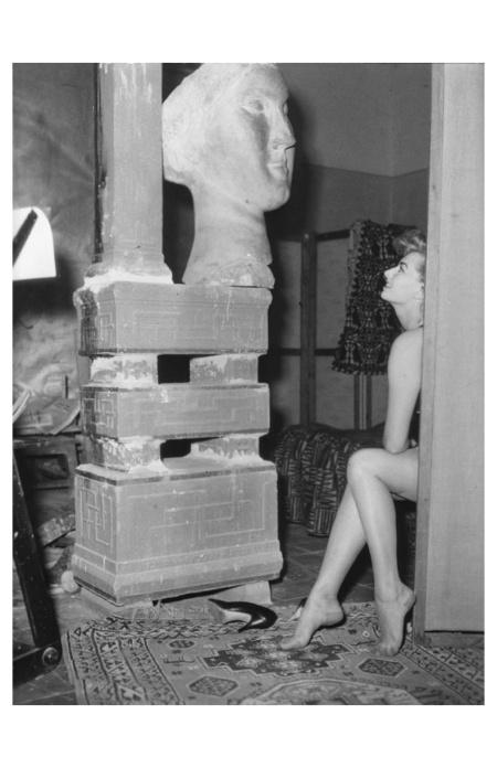 Sophia Loren a Villa Ada, 1953 Photo Gianni Penati