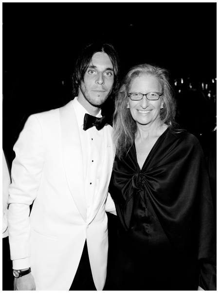 Vladimir Restoin Roitfeld and Annie Leibovitz 2014 Photo Kevin Tachman