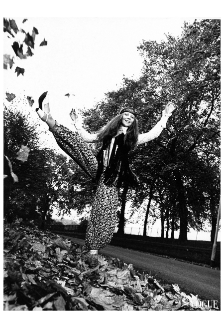 Penelope Tree Patrick Lichfield, Vogue, January 1, 196