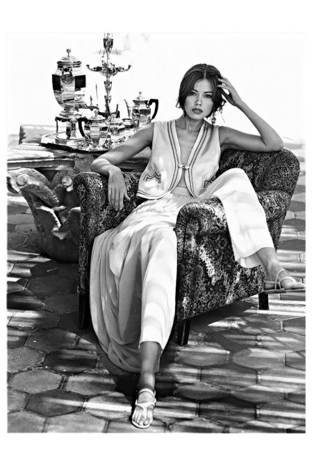 Tatiana Sorokko 1985 - Photo Marco Glaviano