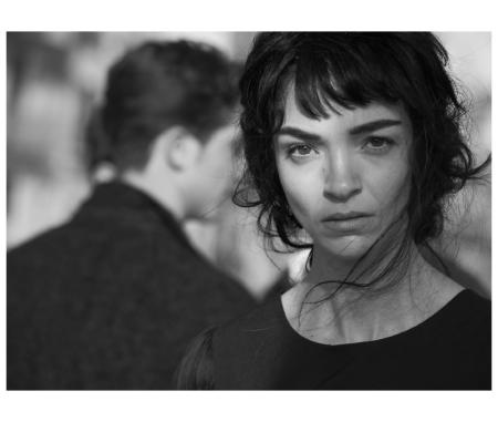 Mariacarla Boscono, Vogue Italy, Palermo, Italy 2013. © Peter Lindbergh
