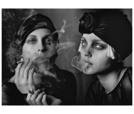 Sabisha, Jessica Stam, Vogue Italy, Paris, France 2007 Peter Lindbergh