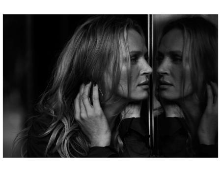 Uma Thurman, Vogue Italy, Downtown, Los Angeles, USA, 2011 Photo Peter Lindbergh
