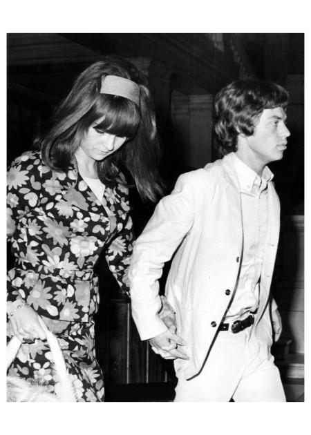 Chrissie Srimpton Mick Jagger 1966