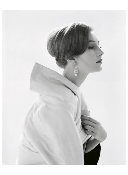 Kathy Ainsworth Fashion Portrait, 1958 Photo William Helburn