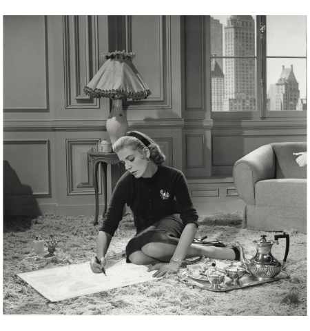 Lauren Bacall Designing Woman Everett Collection