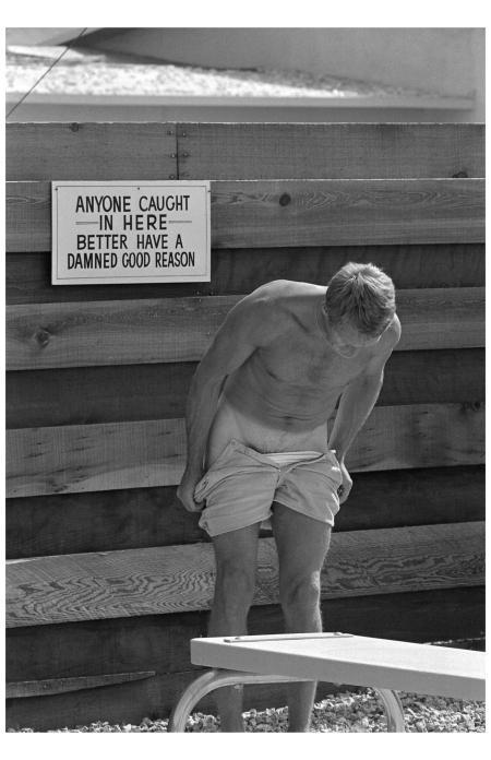 Steve McQueen, Palm Springs, 1963.