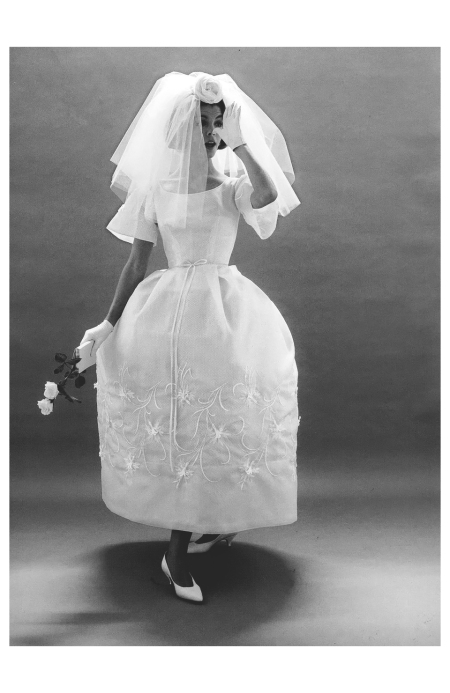 Sue Jenks,The Bride's Magazine, 1951 Photo William Helburn