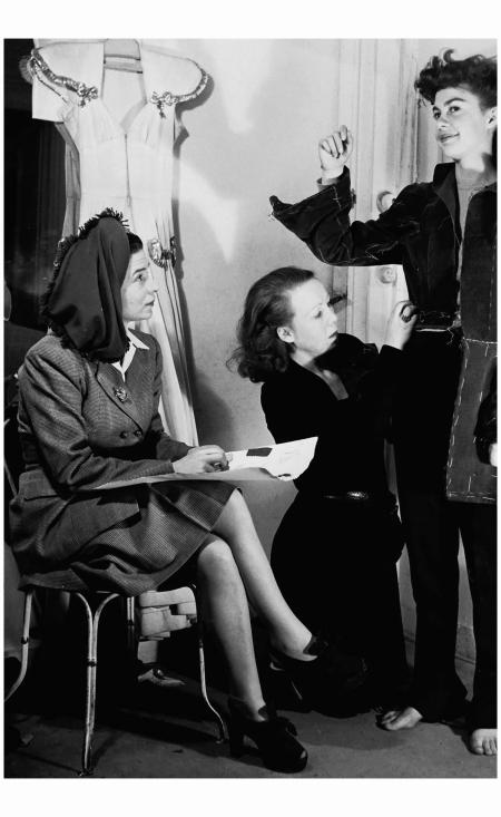 Madame Carven 1940's Rex