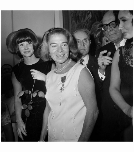 Marie-Louise Carven in 1964. She was also a skilled marketer Getty