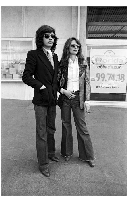 Cannes Charlotte Rampling & Jean Michael Jarre 1978 AP