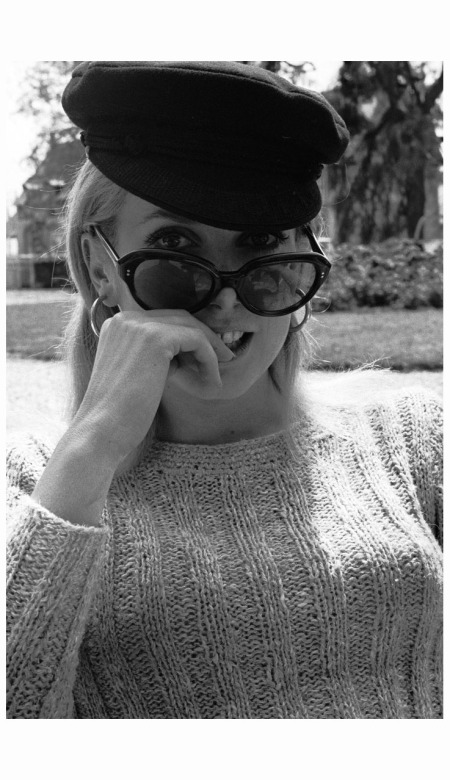 Catherine Deneuve, Normandy, 1965 Photo Eric Swayne