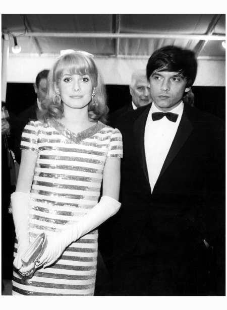 David Bailey accompanied Deneuve to the Cannes Film Festival in 1966