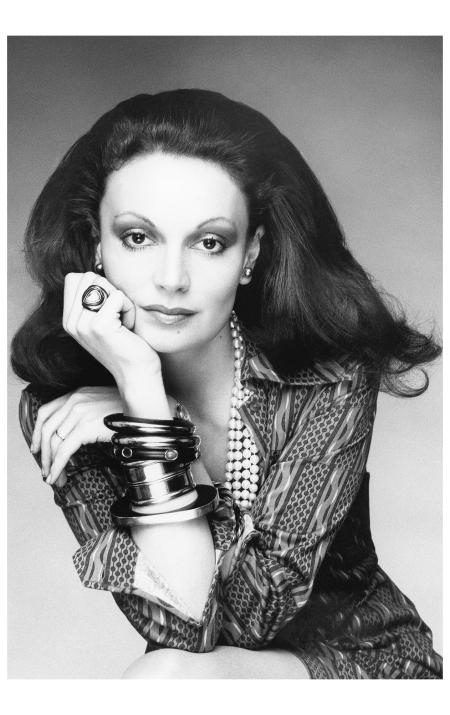 Diane von Furstenberg - Bob Stone, Vogue, February 1, 1974