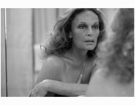 Diane Von Furstenberg Harper's Bazaar October 2009 Photo Peter Lindbergh