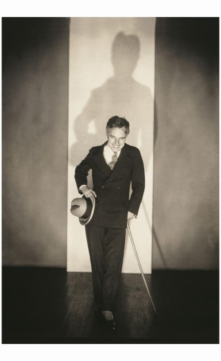 November 1926 - Charlie Chaplin in New York Photo Edward Steichen
