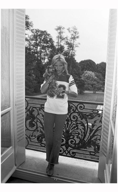 Sylvie Vartan In l'Oise, 1977