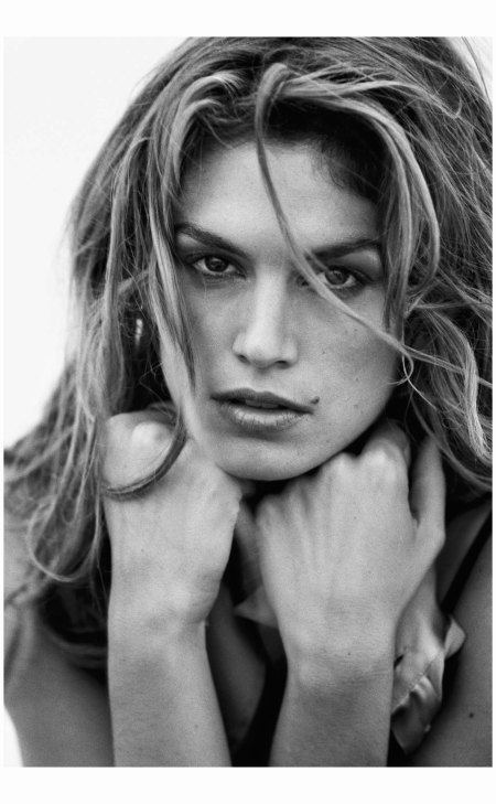 Cindy Crawford Harper's Bazaar Jul 1995 Photo Peter Lindbergh