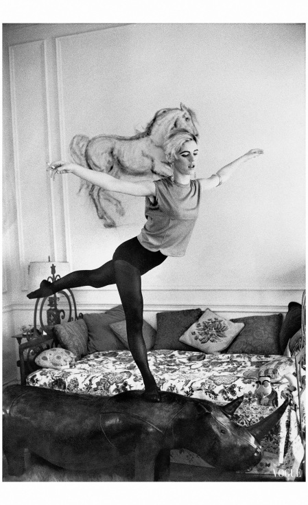 Edie Sedgwick Photo Enzo Sellerio, Vogue, August 1965