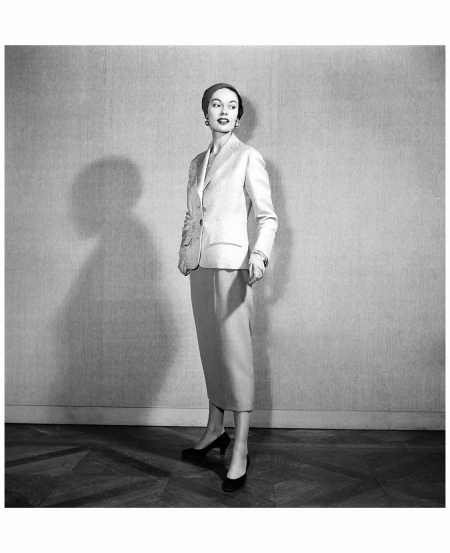 Fashion by Hubert de Givenchy, for spring summer 1953 RDA