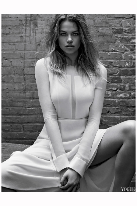Hailey Clauson Vogue Es sept 2014 Photo Mark Seliger a