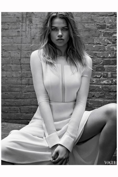 Hailey Clauson Vogue Es sept 2014 Photo Mark Seliger a