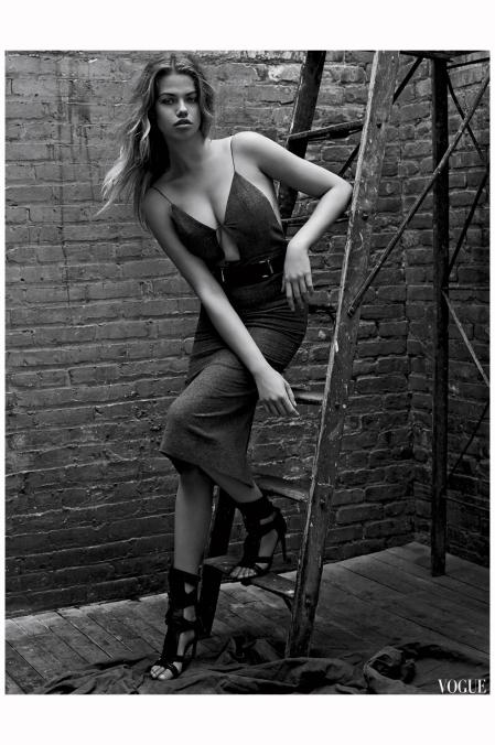 Hailey Clauson Vogue Es sept 2014 Photo Mark Seliger