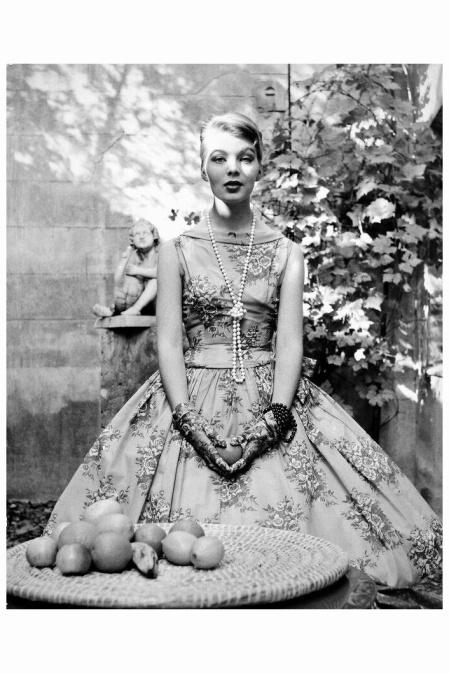 Herbert Tobias Nico Paeffgen, Cocktail Dress by Heinz Ostergard .Berlin 1956