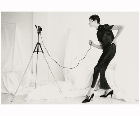 Kristen McMenamy Photo Max Vadukul, Vogue 1993