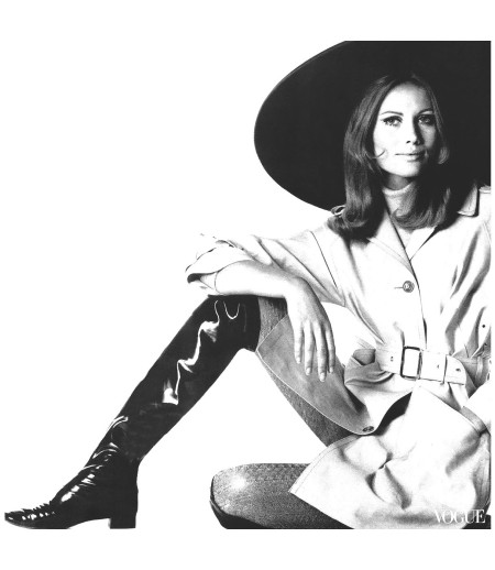 Maud Adams Irving Penn, Vogue, August 1967