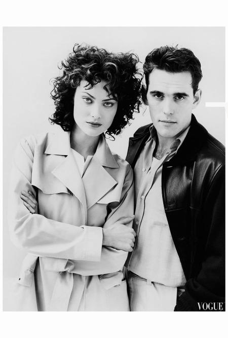 Shalom Harlow Mat Dillon Arthur Elgort Vogue 1996