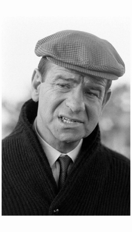 Walter Matthau during filming of %22Guide for the Married Man.%22 1966 Photo Bill Ray