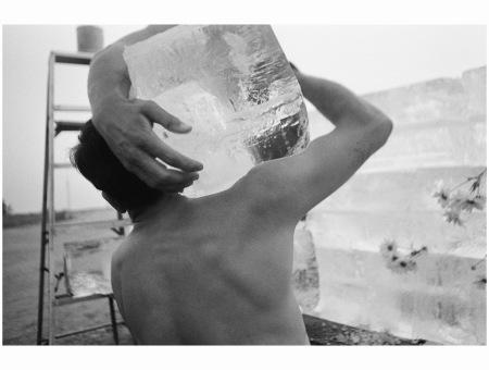 Allan Kaprow, Fluids, L.A., 1967 Photo Dennis Hopper