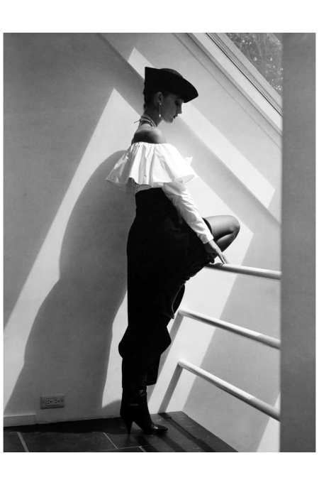 Calvin Klein Fashion NYC 1983 Photo Horst P. Horst