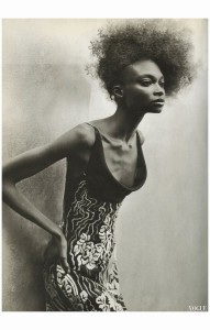 Debra Shaw Vogue Italia March 1997 HC Peter Lindbergh